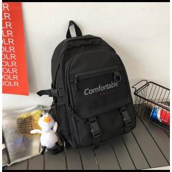 Рюкзак городской, школьный, спортивный, черный. Comfortable.