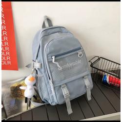 Рюкзак городской, школьный, спортивный, серый. Comfortable.