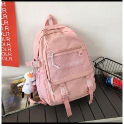 Рюкзак городской, школьный, спортивный, розовый. Comfortable.
