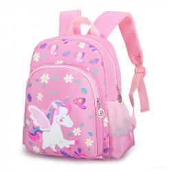 Детский рюкзак, розовый. Малыш пегас.