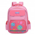 Детский рюкзак, школьный, розовый. Космические котики.