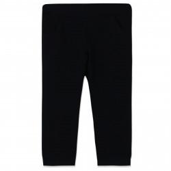 Штаны для мальчика, спортивные, черные. Швы на коленях.