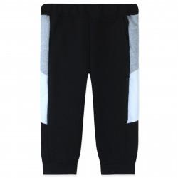 Штаны для мальчика, спортивные, черные. Лампасы.