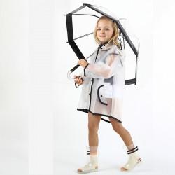 Детский зонтик прозрачный, силиконовый.