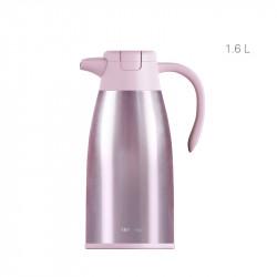 Термос, чайник-термос, розовый. Чайник. 1600 мл.