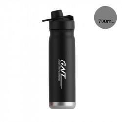 Термос, термос-бутылка, черный. GNT. 700 мл.