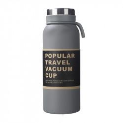 Термос, серый. Travel Vacuum Cup. 500 мл.