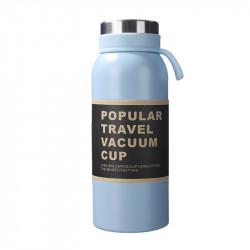 Термос, голубой. Travel Vacuum Cup. 500 мл.
