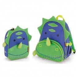 Набор рюкзак и ланч бокс. Skip Hop Zoo. Динозавр.