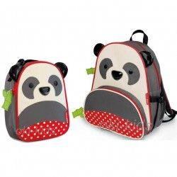 Набор рюкзак и ланч бокс. Skip Hop Zoo. Панда.