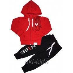 Спортивный костюм на мальчика Месси-красный
