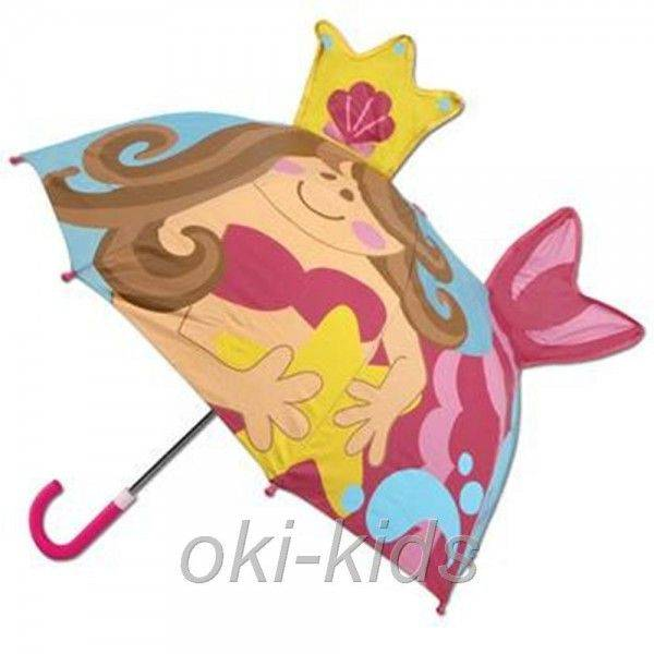 Детский зонтик 3D Русалка