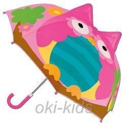 Детский зонтик 3D Совушка