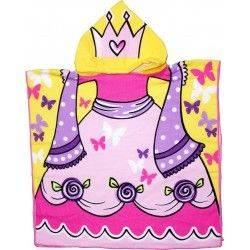Детское полотенце, пончо. Принцесса.