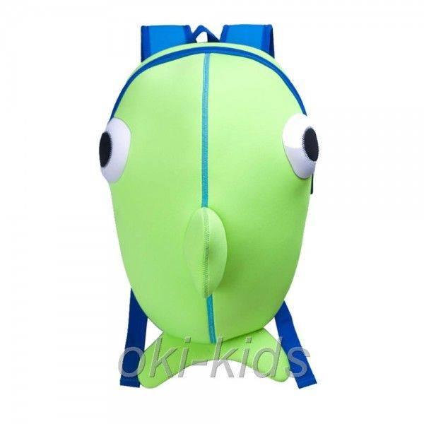 "Рюкзак ""Рыбка"" зеленый."
