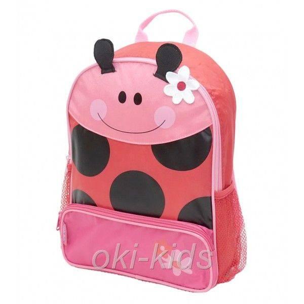 Детский рюкзак. Божья коровка.