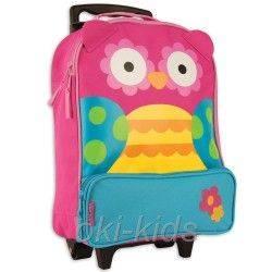 Детский дорожный чемодан. Сова.