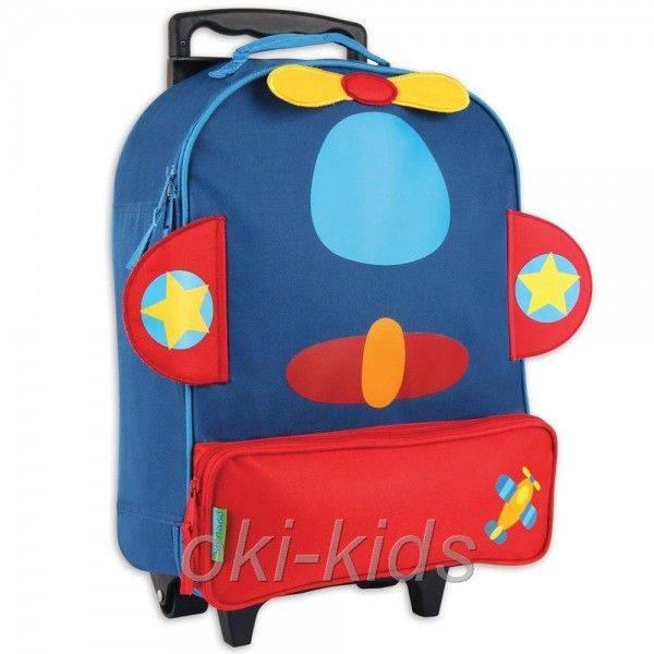 Детский дорожный чемодан. Самолет.